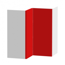 Wall Bi-Fold Corner 600mm x 600mm