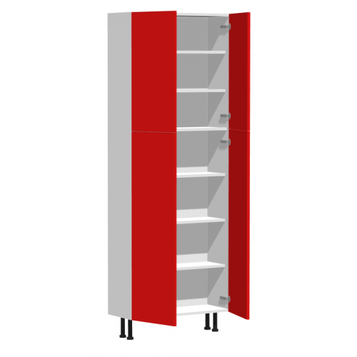 kitchen tall cabinet with four doors